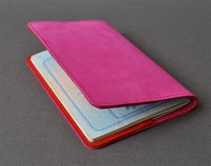Passport leather cover http://st-loup.com/blog/?p=21