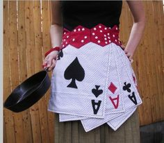 Poker night apron - I want this!!! I'm always in the kitchen for poker night so this would be perfect!