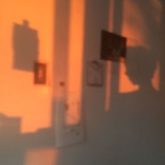 my room a few evenings ago! the sunset was surreal