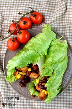 Burritos, Lettuce Wraps, Recipe Images, Granola, Healthy Eating, Dinner Healthy, Avocado, Food Porn, Dinner Recipes