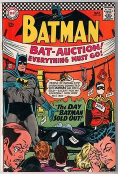 #batman sells out