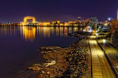 The Lakewalk, Duluth, MN--miss evening walks here...