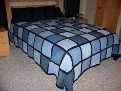 Resultado de imagen para denim blanket