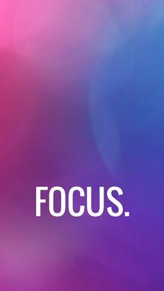 iPhone Wallpaper Focus Motivation