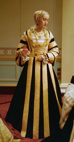 Wax figure of Anne of Cleves Madame Tussaud's London. Fourth wife of King Henry VIII.