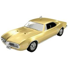 1967 Pontiac Firebird 400 50th Anniversary Ornament (58 PEN) ❤ liked on Polyvore featuring home, home decor, holiday decorations, car christmas tree ornaments, car christmas ornaments and car ornaments