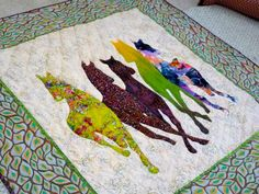 A Band of Horses Quilt