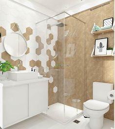 Condo Interior, Bathroom Interior Design, Bathroom Styling, Dream Bathrooms, Amazing Bathrooms, Modern Bathroom, Small Bathroom, House Tiles, Bathroom Goals