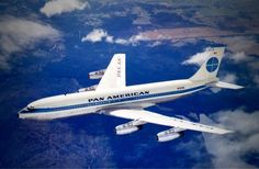 The Pan American Boeing Boeing 707, Boeing Aircraft, Passenger Aircraft, Illinois, Pan Am, Vintage Airplanes, Commercial Aircraft, Civil Aviation, European Destination