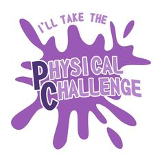 Physical Challenge Cuttable Design Cut File. Vector, Clipart, Digital Scrapbooking Download, Available in JPEG, PDF, EPS, DXF and SVG. Works with Cricut, Design Space, Cuts A Lot, Make the Cut!, Inkscape, CorelDraw, Adobe Illustrator, Silhouette Cameo, Brother ScanNCut and other software.