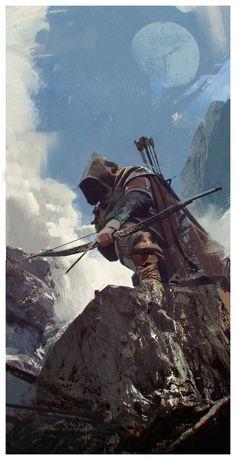 Mercenary by Alexandr Malex   Illustration   2D   CGSociety