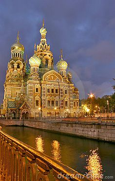 Church of Savior on Spilled Blood, St. Petersburg, Russia!