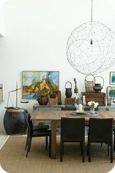 Emily Henderson's dinning room
