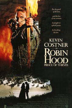 "Robin Hood: Prince of Thieves (1991) Vintage Movie Poster - 27"" x 40"""