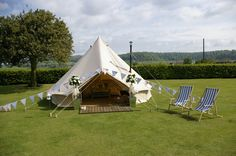 www.thecanvascottagecompany.co.uk  Wedding Bell Tent #Glamping