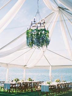 Romantic Bee Themed Lakeside Wedding in Montana Wedding Reception Venues, Tent Wedding, Wedding Table, Wedding Events, Dream Wedding, Wedding Bells, Montana Wedding Venues, Wedding Dresses, Lakeside Garden