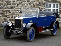 1925 Armstrong Siddeley 14HP Cotswold tourer
