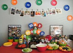 M&Ms Birthday Party Ideas | Photo 2 of 45