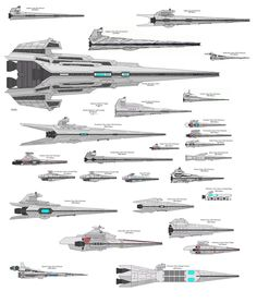 Flaming Zombie Monkeys: Star Wars Ship Size Comparison
