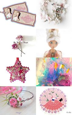 Sweet Pink by Elena Doniy on Etsy--Pinned with TreasuryPin.com