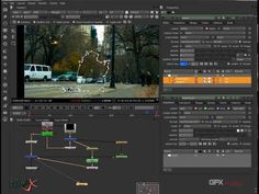Removing object with Roto in Nuke - YouTube