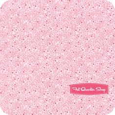 Nursery Fabric: Fatquartershop.com - Chinoise by Studio K for Clothwork Fabrics - Light Pink Sprigs SKU# Y1130-41 $10.75