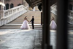 It was my honour to travel to Italy to take wedding photos in Verena & Mark's dream destination - Venice. Italy Travel, Venice, Wedding Photos, Stairs, Wedding Photography, Marriage Pictures, Ladders, Wedding Shot, Stairway