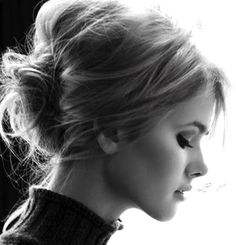 The DIY: Prep strands with a volumizing spray, then wrap small sections around a curling iron to create movement in the hair. Before pulling hair into a low bun, backcomb the crown section and be sure to leave out a few face framing pieces. Pin the leftover layers back loosely to create an ethereal feel. Don't worry about being too precise, like all the styles I love, the more tousled, the better. {Pic: Pinterest}