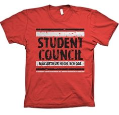 Student Council Shirts Customize Your Student Council T Shirts