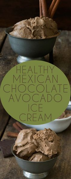 Low carb keto Chocolate Avocado Ice Cream. This recipe is dairy-free, paleo and vegan! Not to mention delicious. Perfect for low carb, THM, banting or Atkins | No need to buy ice cream at the store anymore when you can easily make the healthier version in your own kitchen!
