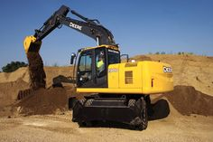 Pin 14. . Get to know John Deere- construction equipment. John Deere Construction Vehicles