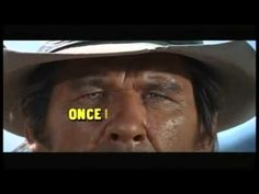 There were three men in her life. one to love her. and one to kill her. Charles Bronson, Claudia Cardinale, Trailer Youtube, Pier Paolo Pasolini, Sergio Leone, Chef D Oeuvre, Once Upon A Time, Trivia, Les Oeuvres