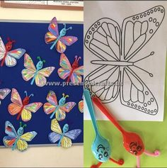 spring-butterfly-craft-ideas-for-kids.jpg (540×543)