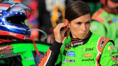 Though an accident, Danica Patrick was not pleased when Dale Earnhardt Jr. ran into her during Saturday night's NASCAR race.