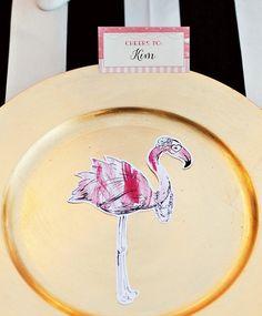 Printable+Flamingo+Party+Silhouettes+{++Summer+Blog+Hop}