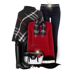 Riding Boots by laurenjane47 on Polyvore featuring MaxMara, WearAll, James Jeans, Tory Burch, Mark Cross, Kevin Jewelers, Humble Chic, River Island, Kate Spade and women's clothing