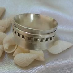 Mens silver sterling ring..