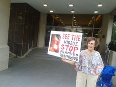 protest outside Planned Parenthood clinic in Atlanta , prolife rally #prolife #abortion