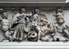 Hekate in the Titanomachia on the Pergamon altar