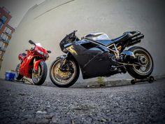 Ducati Travelogue of Tigh Loughhead's Motorcycle Adventures in NYC | NYDUCATI: Brooklyn Moto Custom Carbon Fiber 1198S Ducati