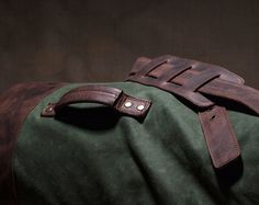 I can write a book about the duffel bag. Its history starts a long time ago and it has always been used by brave men, who were ready to travel thousands