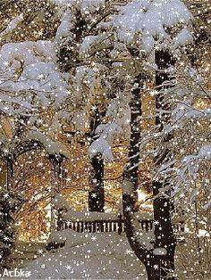 Зима - анимация на телефон №1362955 Prim Christmas, Christmas Mood, Christmas Scenes, Country Christmas, White Christmas, Vintage Christmas Images, Christmas Pictures, Winter Schnee, Winter Day