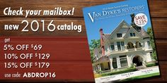 Check your mailbox for our catalog! Up to 15% Off! http://www.vandykes.com/gateway.aspx?c=sitenavigation2