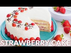 This strawberry cake recipe is layer after delicious layer of fresh strawberries, a lightly sweet cream cheese frosting, and moist European sponge cake. An easy and excellent fresh strawberry cake you will make again and again.