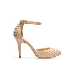 Image 1 of VAMP SHOE WITH STUDDED HEEL from Zara