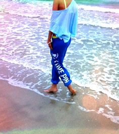 Make Waves #LovePINK #Beach #Blue