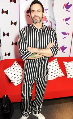 Marc Jacobs: Established designer, Creative Director of Diet Coke and pajama enthusiast.