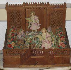 A Wooden Garden of Fretwork : Pieternel Antique Toys