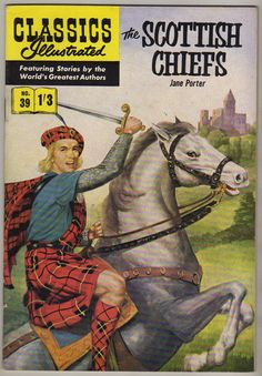 Classics Illustrated #39 The Scottish Chiefs British (Strato Publications)