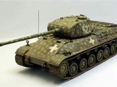 Tas 44M makettje. Hungarian Panther